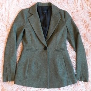 Nanette Lepore kalamata green fitted blazer 4